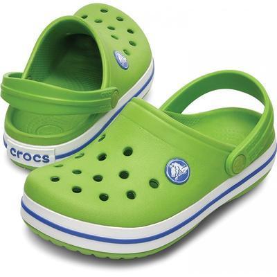 Boty CROCBAND KIDS C6/7 Zář. Zelená/Modrá, Crocs - 1