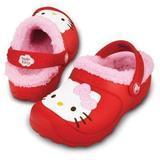 Boty HELLO KITY LINED COSTUM GLOG C8/9 red/bubblegum, Crocs - 1/3