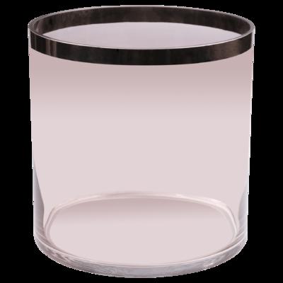 Váza / svícen PENELOPE 30 cm - růžový, Wittkemper