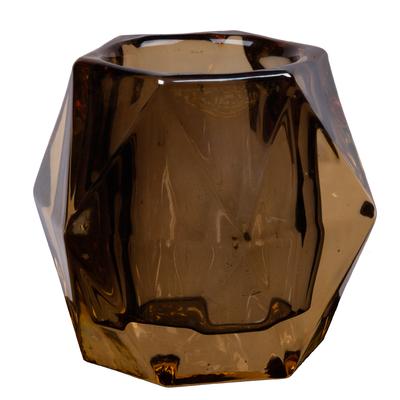 Svícen EDGY 9x9x10 cm - zlatá, Wittkemper