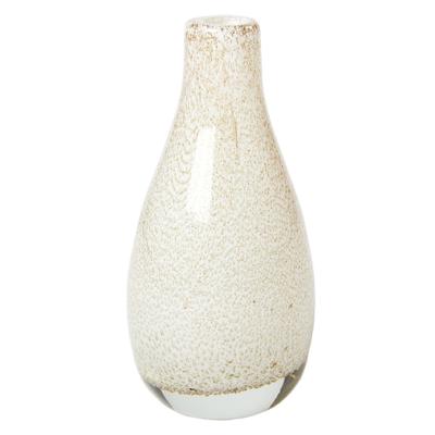 Váza GLORY FLASCHE 8x8x15 cm - bílá, Wittkemper