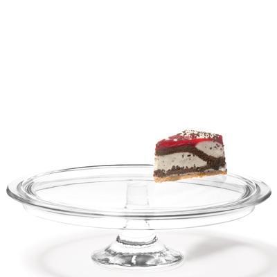 Podnos dortový na noze CIAO 32 cm, Leonardo