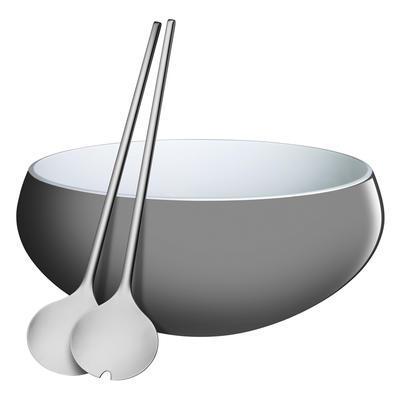 Set na salát - šedý NURO 31,5 cm, WMF - 1