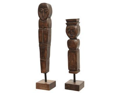 Socha, mangové dřevo, 32cm, Kaemingk - 1