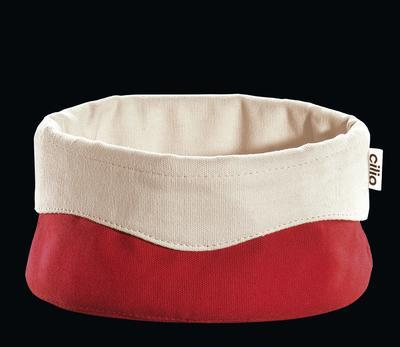 Košík na pečivo - červený 13x21,5 cm, Cilio - 1