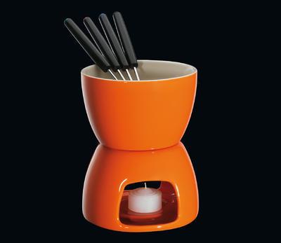 Fondue na čokoládu oranžové, Cilio
