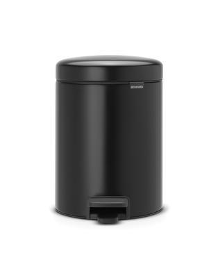 Pedálový koš Newlcon 5l, matná černá, Brabantia  - 1
