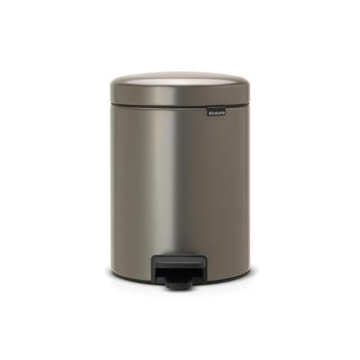 Pedálový koš NewIcon 5l, platinová, Brabantia  - 1