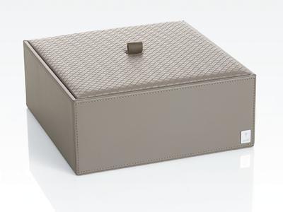 "Úložný box s víkem "" XL "", šedý, JOOP!"