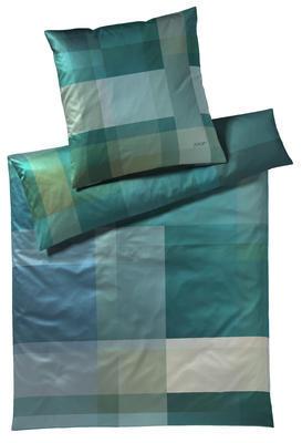 Povlečení na jednolůžko GLOW 70x90/140x200 - turquoise, JOOP!