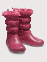 Dámské nepromokavé zimní boty WINTER BOOT, červené, vel. 37-38, Crocs - 1/2