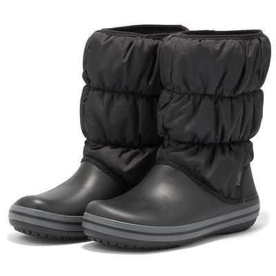 Dámské nepromokavé zimní boty PUFF BOTS, černé, vel. 35-36, Crocs - 1