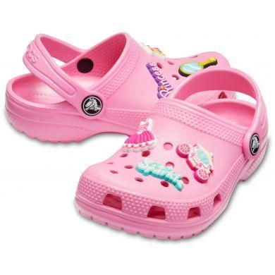 Dětské boty CLASSIC CHARM Clog K Pink Lemonade vel. 30-31, Crocs - 1