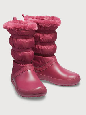 Dámské nepromokavé zimní boty WINTER BOOT, červené, vel. 35-36, Crocs - 1