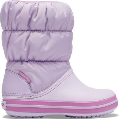 Dětské zimní boty WINTER PUFF Boot Kids-Navy/Red, vel. 34-35, Crocs  - 1