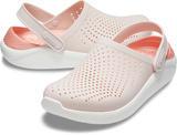 Boty LITERIDE CLOG M8/W10 barely pink/white, Crocs - 1/6