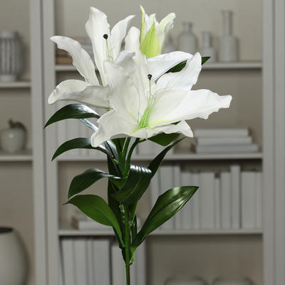 Květina LILIE 93 cm - krémová, DPI