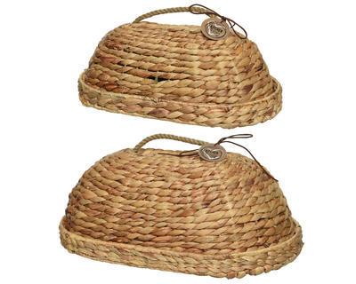 SET 2ks proutěných chlebníků, 30x46x18cm, Kaemingk