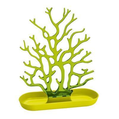 Držák na drobnosti - strom CORA - hořčicová/transp.olivová, Koziol - 1