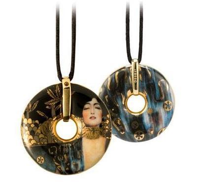 Náhrdelník ARTIS ORBIS G. Klimt - Judith I - 5 cm, Goebel