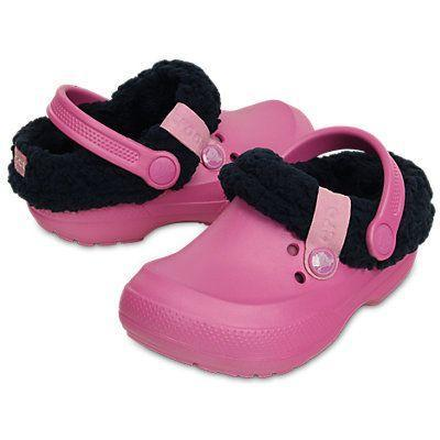 Boty BLITZEN II CLOG KIDS J2 party pink/nautical navy, Crocs - 1
