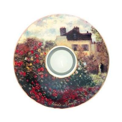 Svícen ARTIS ORBIS C. Monet - The Artist's House - 15 cm, Goebel
