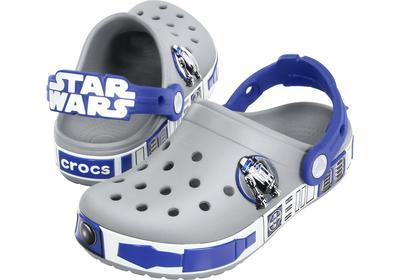 Boty STAR WARS R2D2 CLOG C6/7 light grey/cerulean blue, Crocs - 1