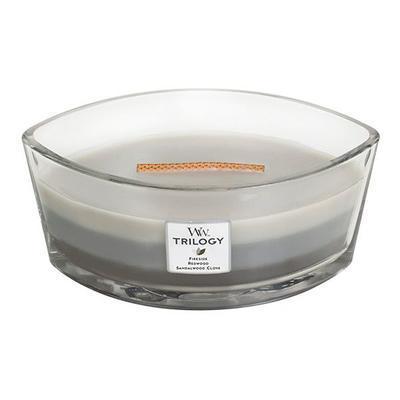 Svíčka loď - Warm Woods TRILOGY - 453,6 g, WoodWick