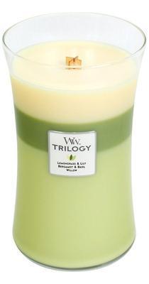 Svíčka velká - Garden Oasis TRILOGY - 609,5 g, WoodWick