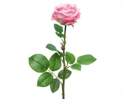 Růže , světle růžová, 66cm, Kaemingk