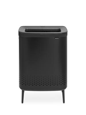 Koš na prádlo BO 2x45l, matná černá, Brabantia    - 1