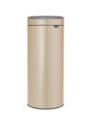 Odpadkový koš Touch Bin 30l, champagne, Brabantia - 1