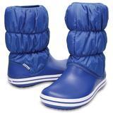 Sněhule WINTER PUFF BOOT WOMEN W9 blue jean/blue jean, Crocs - 1/3