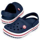 Boty CROCBAND CLOG KIDS C10 navy/red, Crocs - 1/3