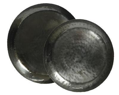 Set 2ks - Podnosy ANTIK 43/35 cm - zlatá, Kaemingk