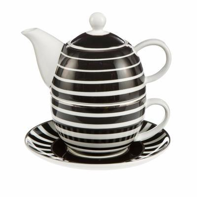 Čaj pro jednoho ATELIER CHÂTEAU - Stripes - 350 ml, Goebel