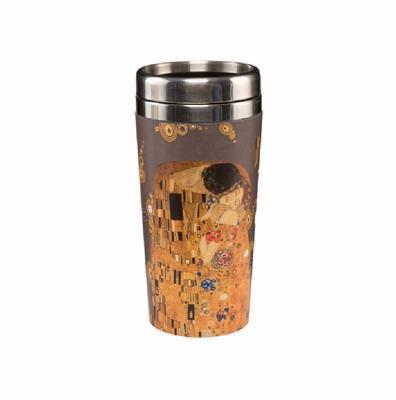 Hrnek To Go ARTIS ORBIS G. Klimt - The Kiss - 500 ml, Goebel