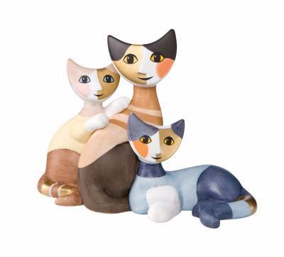 Figurka ROSINA`S CATS - Orio, Gillo e Loris, Goebel