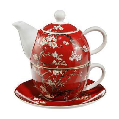 Čaj pro jednoho ARTIS ORBIS V. van Gogh - Almond Tree Red - 350 ml, Goebel