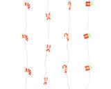 Vánoční světelný řetěz - microLED XMAS 190cm/20L, Kaemingk - 1/2