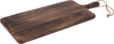 Dřevěné prkénko tmavé 60cm