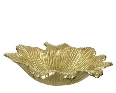 Mísa LIST, cca 25x9cm, zlatá, Kaemingk