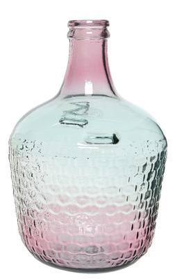 Váza z recyklovaného skla, cca 27x42cm,  Kaemingk - 1