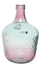 Váza z recyklovaného skla, cca 27x42cm,  Kaemingk - 1/2