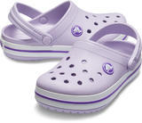 Boty CROCBAND CLOG KIDS J3 lavender/neon purple, Crocs - 1/6