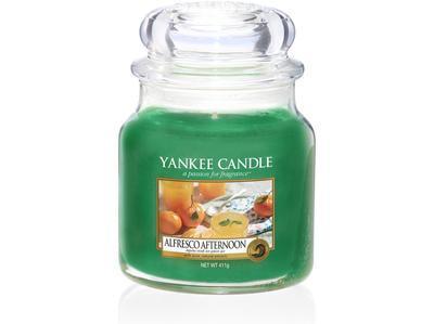 Svíčka Alfresco Afternoon - sklo č.2, Yankee Candle