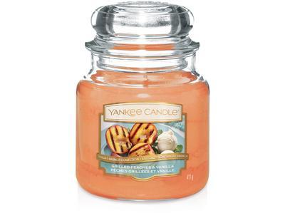 Svíčka Grilled Peaches & Vanila - sklo č.2, Yankee Candle