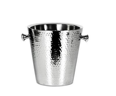Chladicí nádoba na sekt VALENCIA GEHÄMMERT 23 cm, Edzard - 1