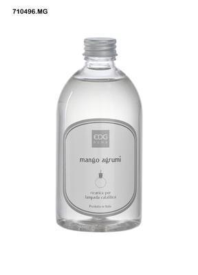 Náplň do katalytické lampy RICARICA - MANGO AGRUMI 500 ml, EDG