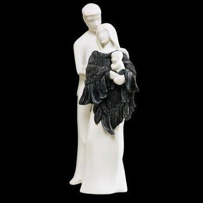 Soška TEMPUS - My Family - černá 34,5 cm, Nadal